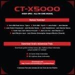 CT-X5000 4