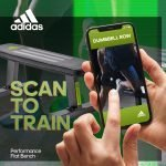scan to train – performance flat bench